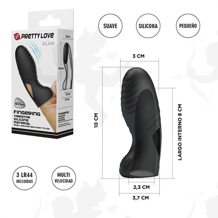 Cód: SS-PL-014750 - Funda de dedo con vibrador - $ 2980
