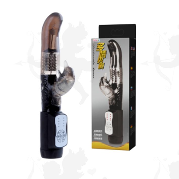 Cód: SS-PL-037303 - Vibrador rotativo punta G y estimulador de clitoris. 12 velocidades - $ 3800