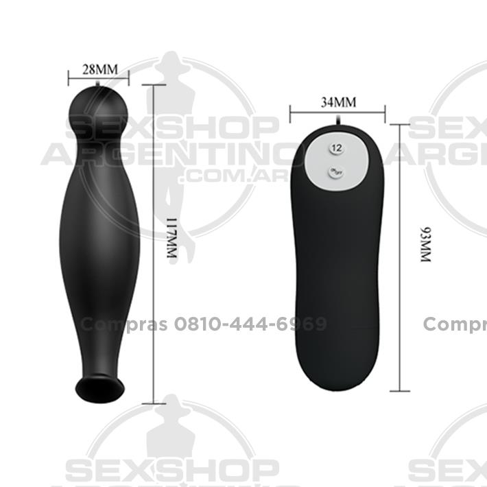 Productos eróticos, Importados en 2018 - Vibrador anal con 12 velocidades de estimulación