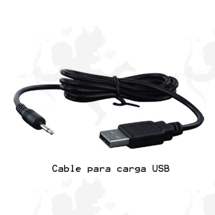 Dilatador anal con vibracion regulable por inclinacion y carga USB