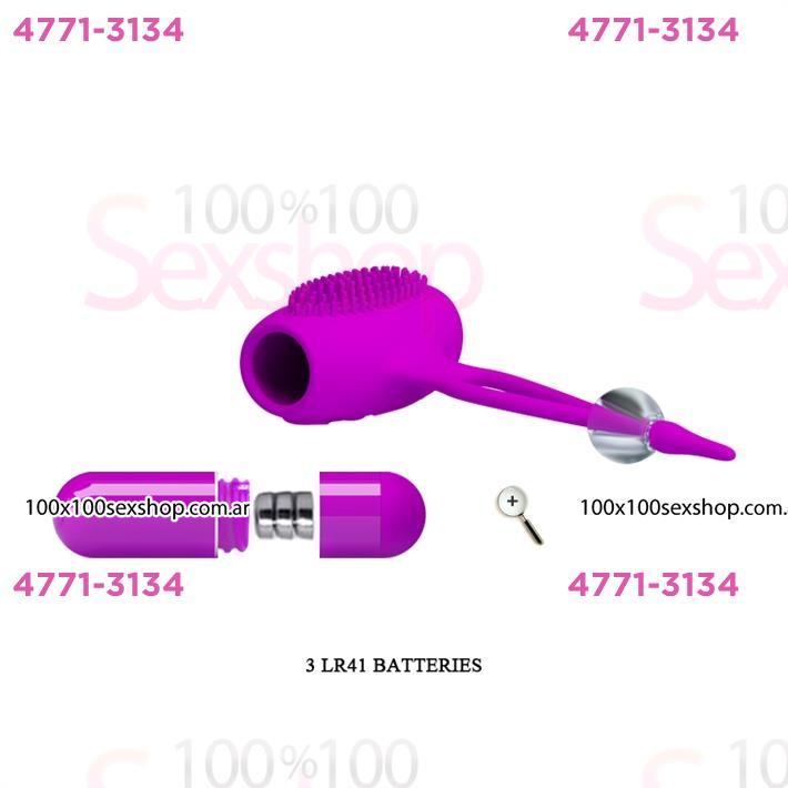 Estimulador de pezones con vibracion