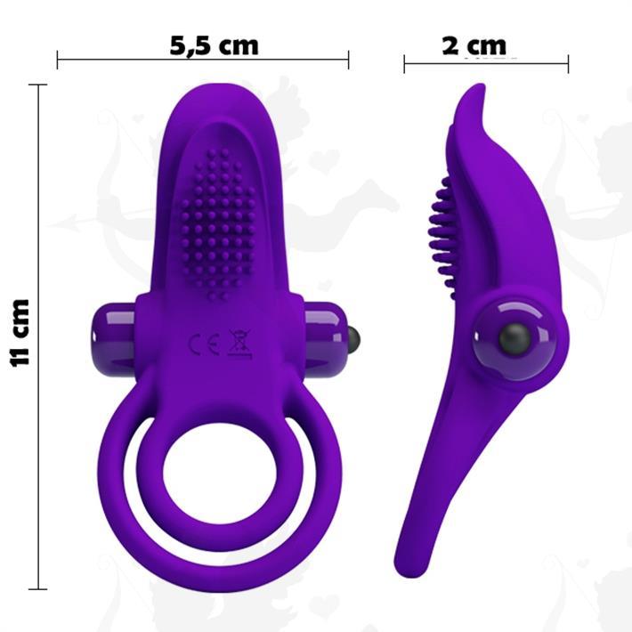 Cód: SS-PL-210203-1 - Anillo con estimulador de clitoris vibrador - $ 2365