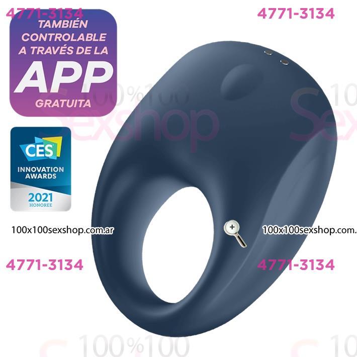Cód: CA SS-SA-1968 - Strong One Ring anillo vibrador con control mediante APP - $ 6990