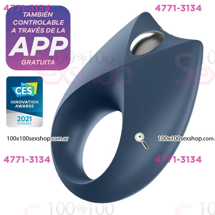 Cód: CA SS-SA-1982 - anillo Royan One con vibracion y carga USB - $ 5990
