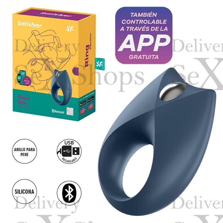 anillo Royan One con vibracion y carga USB