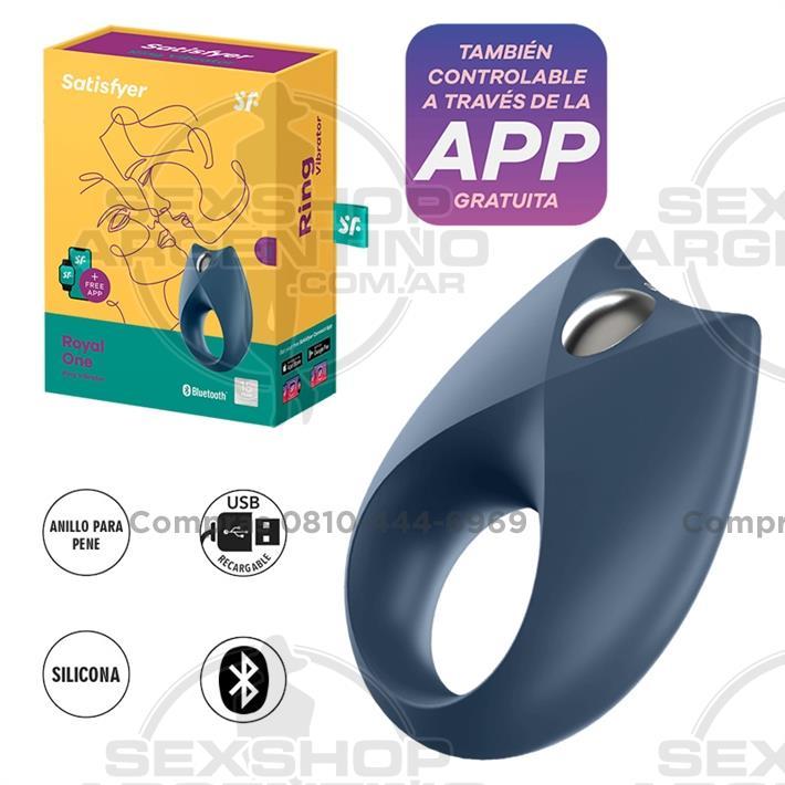 - anillo Royan One con vibracion y carga USB
