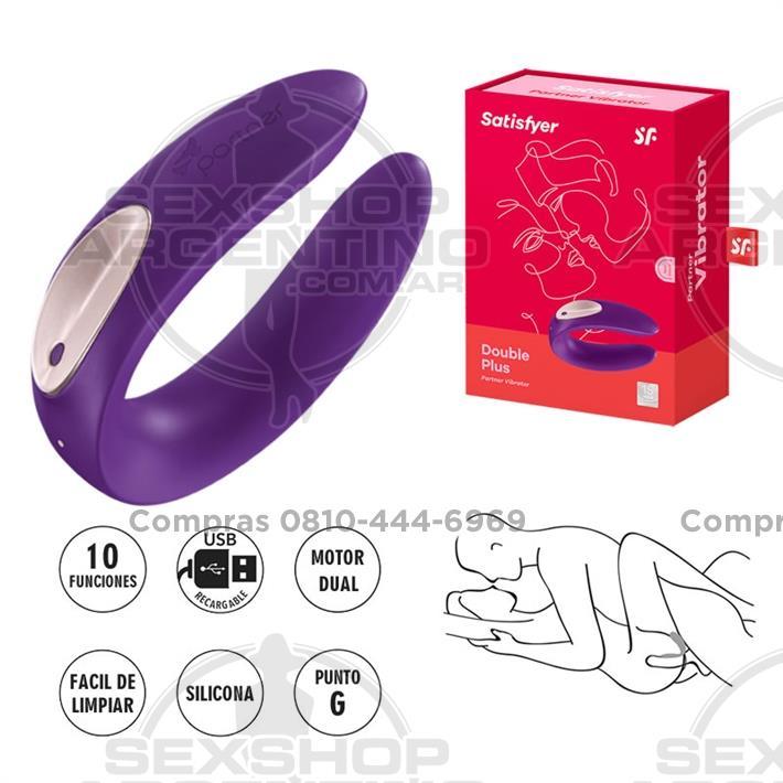 - Partner Plus Estimulador de clitoris con 10 velocidades y USB