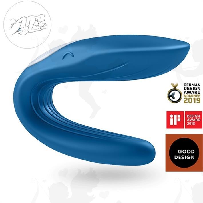 Cód: SS-SA-4095 - Estimulador de clitoris para parejas con vibrador - $ 5275