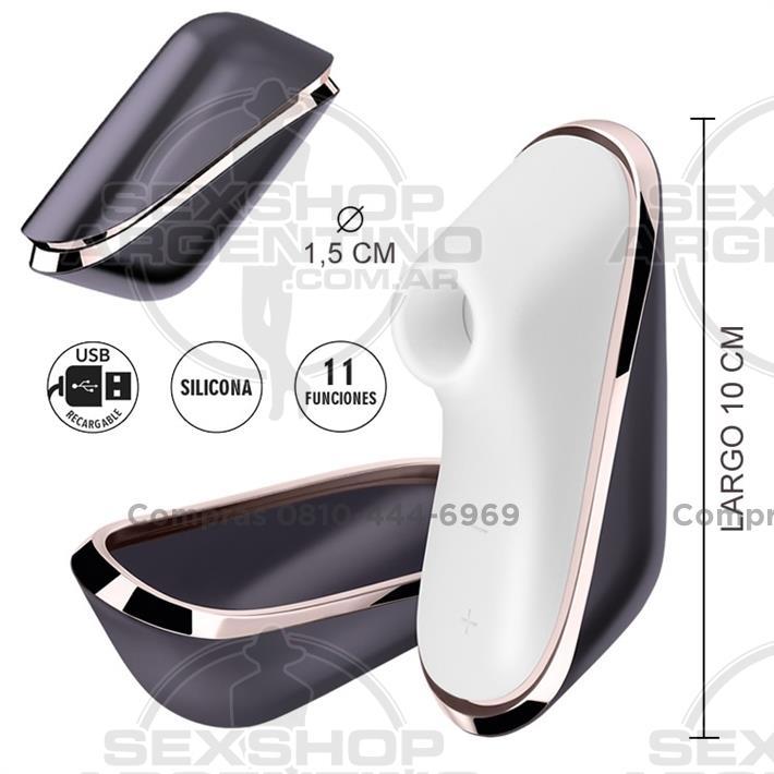 - Pro Traveler Succionador portable con carga usb