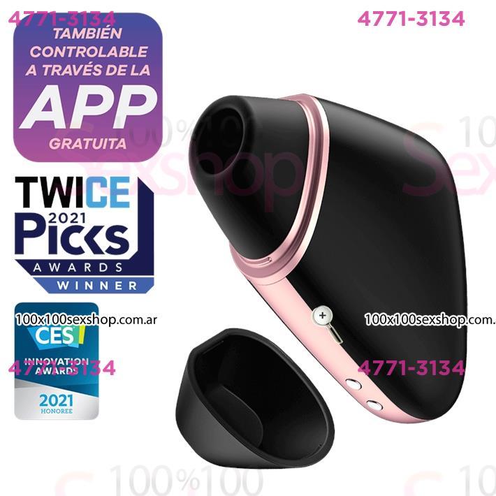 Cód: CA SS-SA-7540 - Love Triangle succionador con carga USB y control via APP - $ 10990
