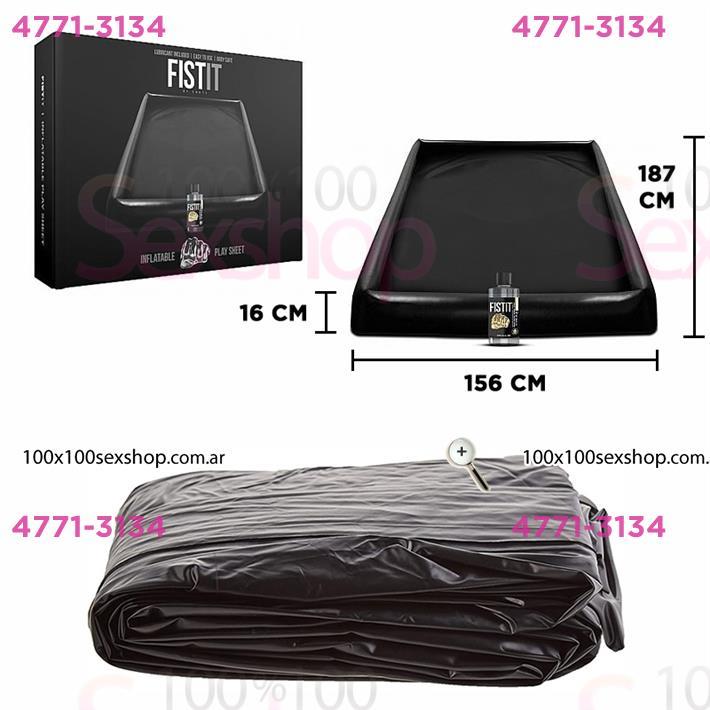 Cód: CA SS-SH-FS06 - Sábana Inflable Negra Inflatable Play Sheet - $ 9100