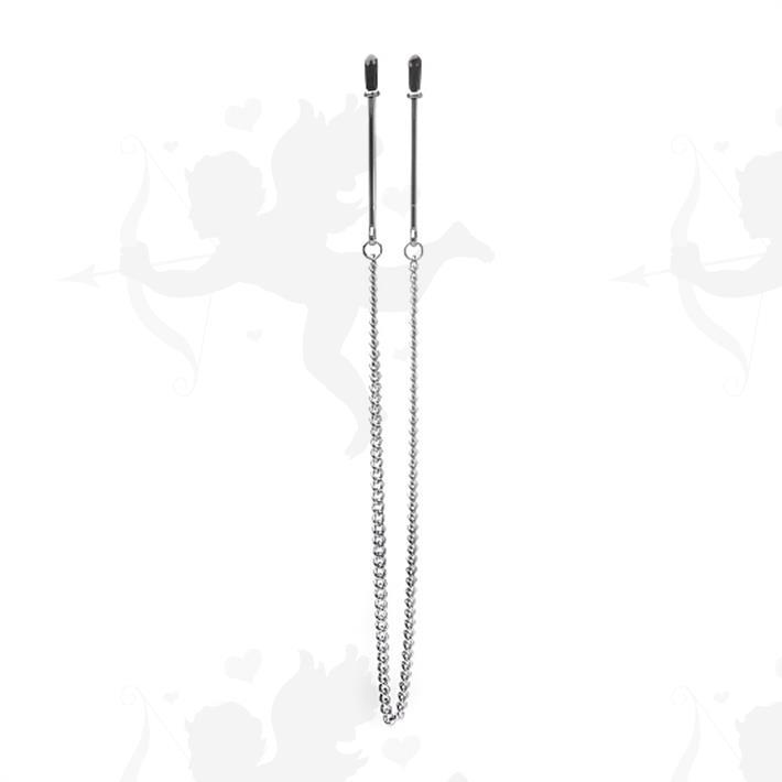 Cód: SS-SH-OU78 - Broches de pezones con cadena metalizada - $ 2800