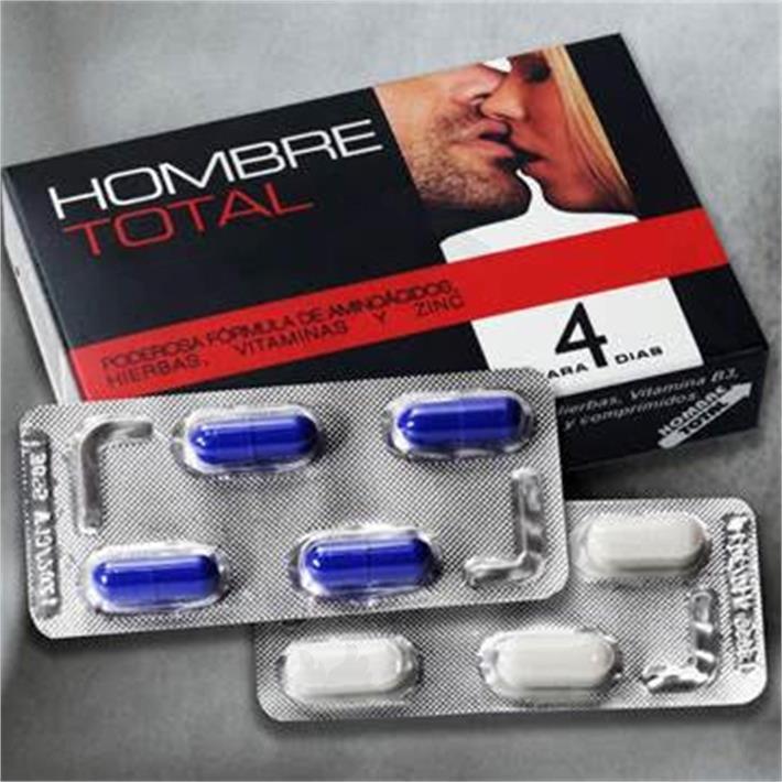 Pastilla potenciadora sexual masculina HOMBRE TOTAL