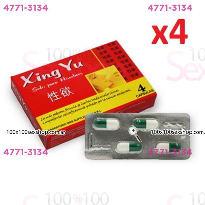 Cód: CA XING - Xing Yu Vigorizante Masculino En Capsulas - $ 420