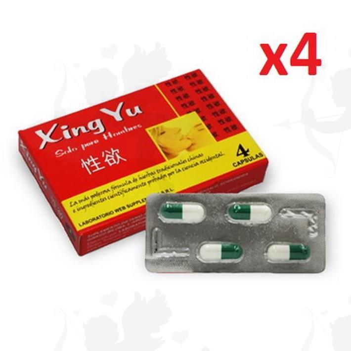 Cód: XING - Xing Yu Vigorizante Masculino En Capsulas - $ 500