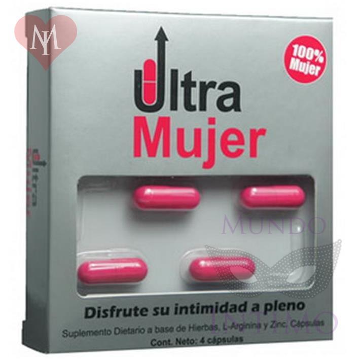 Vigorizante femenino en cápsulas Ultra Mujer x4