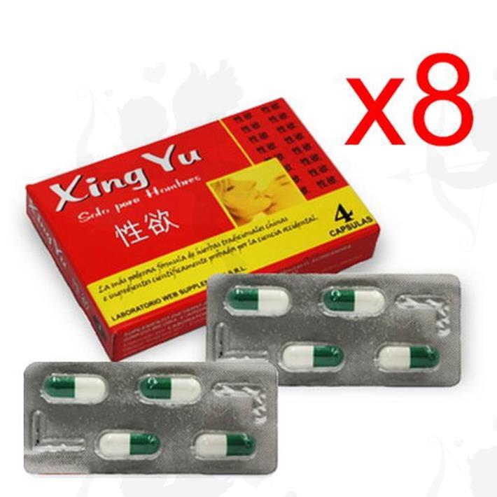 Cód: XINGX8 - Xing Yu X8 Vigorizante Masculino En Capsulas - $ 1200