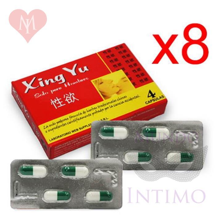 Xing Yu X8 Vigorizante Masculino En Capsulas