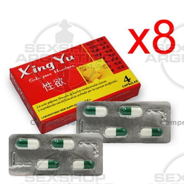 - Xing Yu X8 Vigorizante Masculino En Capsulas